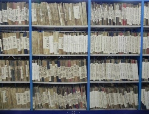 The storage rooms of Chieti State Archives